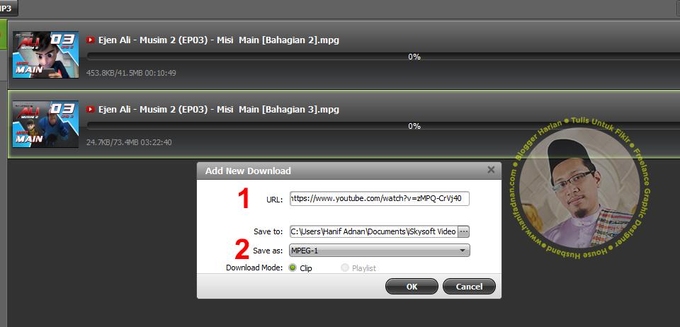 2 Cara muat-turun, convert dan burn VCD untuk dipasang ke dalam kereta hanya 1 software